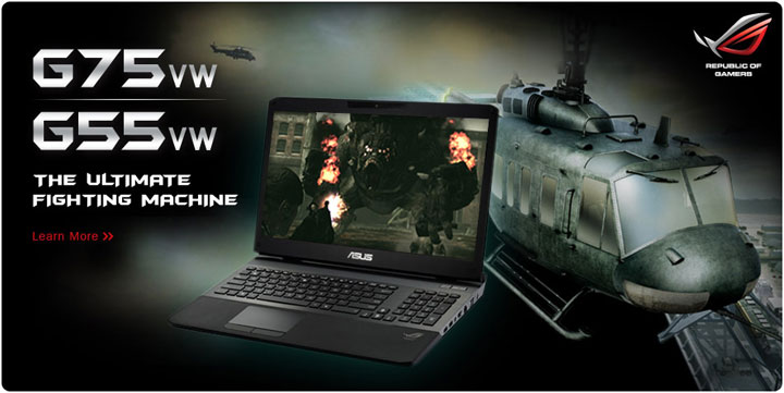asus g75vw g55vw series republic of gamers laptops all the asus ...
