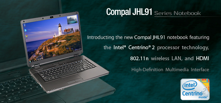 COMPAL JHL91, HL91 Cheaper Gaming Laptop