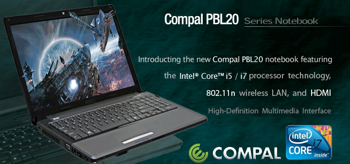 Compal KHLB2 Cheaper Gaming Laptop